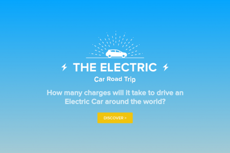 The Electric Car Road Trip  Infographic