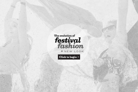 The Evolution of Festival Fashion by New Look Infographic