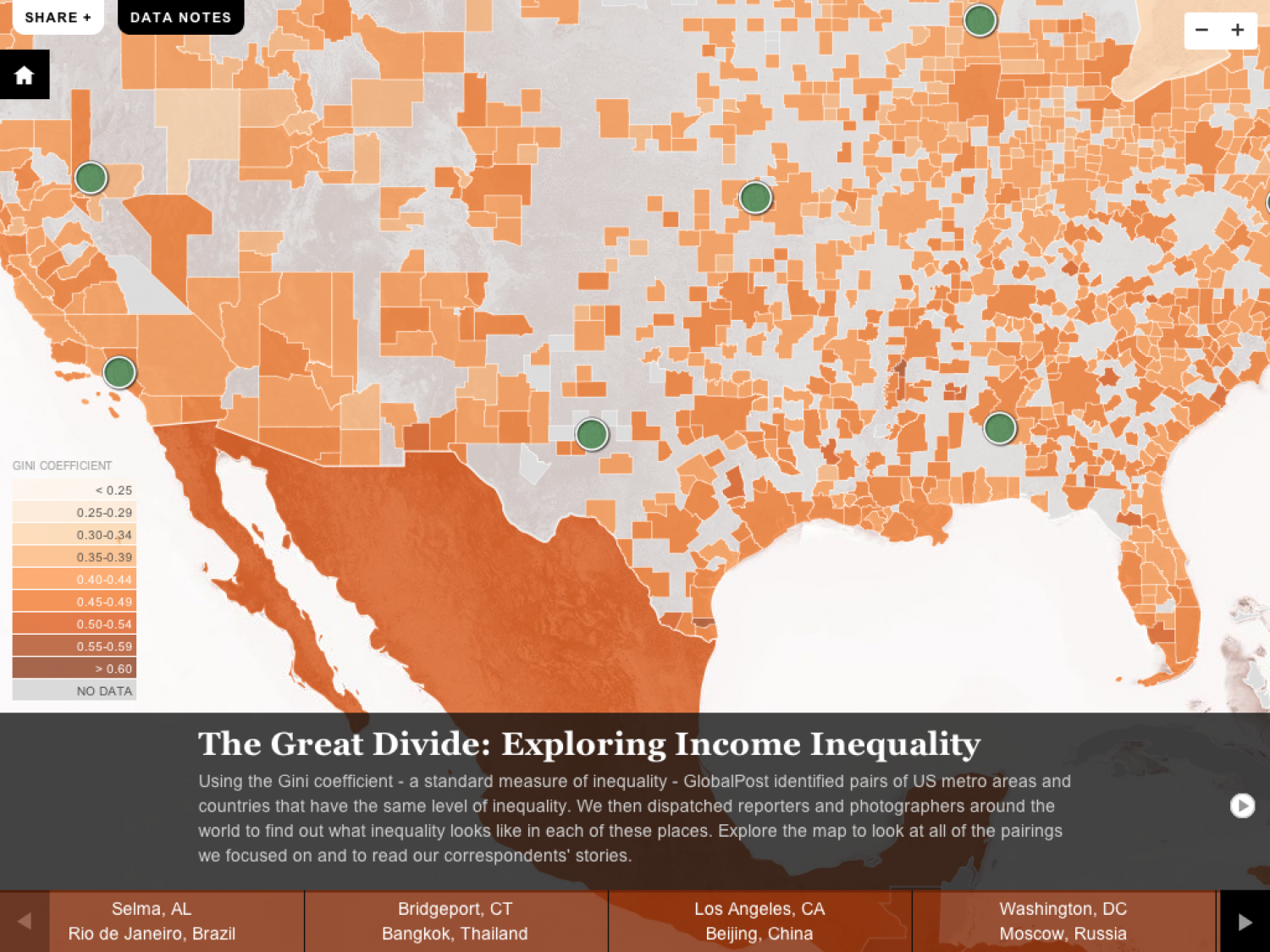The Great Divide: Global income inequality and its cost Infographic