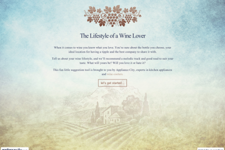 The Lifestyle of a Wine Lover Infographic