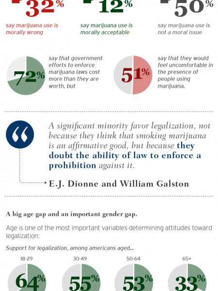 The New Politics of Marijuana Legalization Infographic