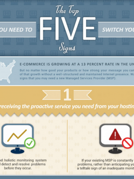 The Top 5 Signs You Need To Switch Your MSP Infographic