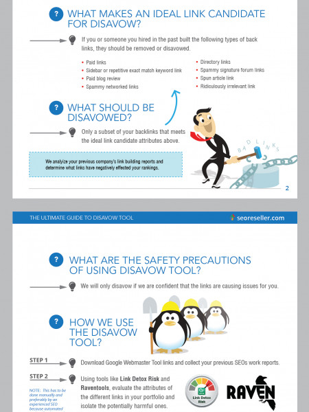The Ultimate Guide To Disavow Tool Infographic