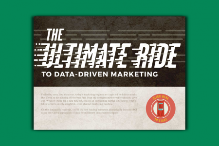 The Ultimate Ride To Data-Driven Marketing Infographic