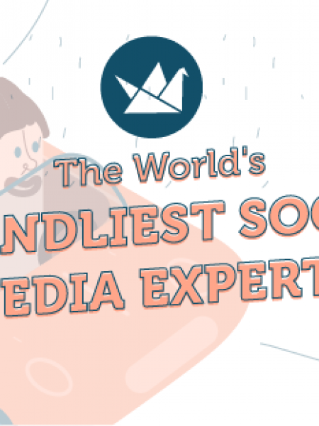 The World's Friendliest Influential Social Media Experts Infographic