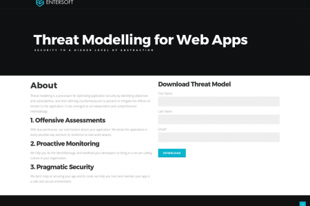 Threat modelling for web apps Infographic