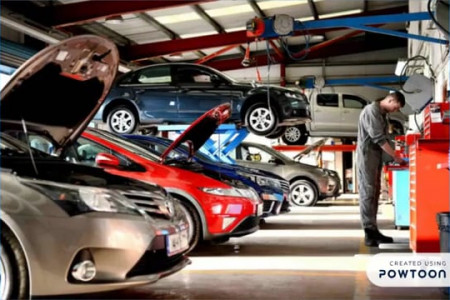Tips in Choosing a Car Diesel Servicing Shop Infographic