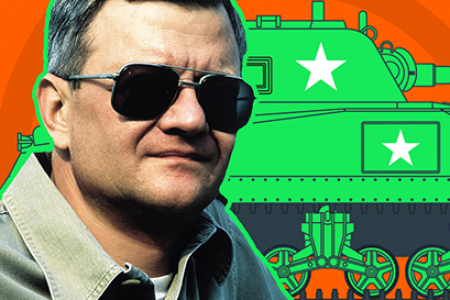 Tom Clancy In Numbers Infographic