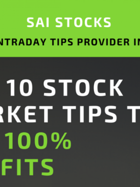 Top 10 Stock Market Tips to Get 100% Profits Infographic