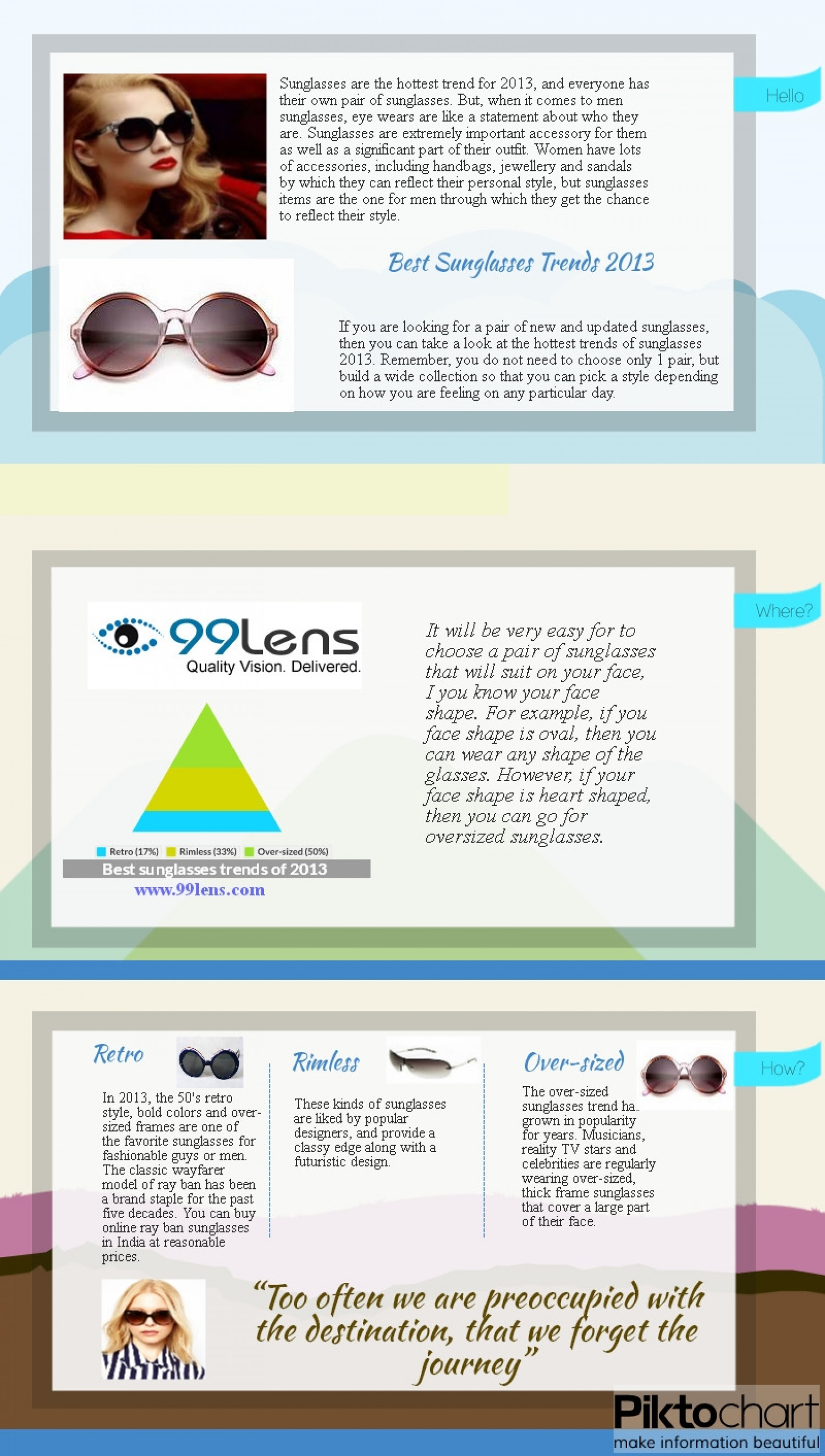a3943766548 Top Three Best Sunglasses Trends 2013 for Men Infographic