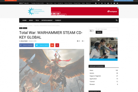 Total War: WARHAMMER STEAM CD-KEY GLOBAL Infographic