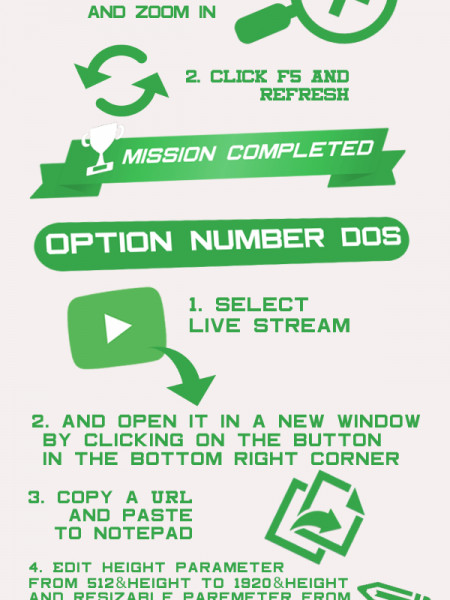Two ways to watch Unibet TV in full-screen Infographic