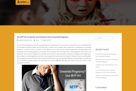 Use MTP Kit to Liberate Your Existence from Unwanted Pregnancy Infographic