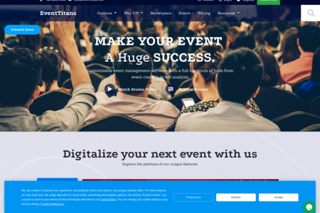 Virtual Event Management Software Infographic