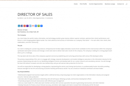 Wallace Associates Inc. Reviews: Director of Sales Infographic