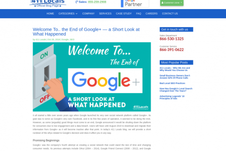 Welcome To.. the End of Google+ — a Short Look at What Happened Infographic