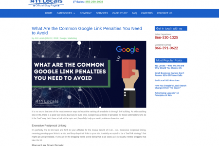What Are the Common Google Link Penalties You Need to Avoid Infographic