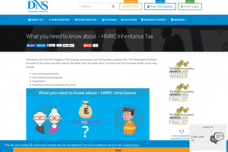 What You Need To know about HMRC Inheritance Tax Infographic