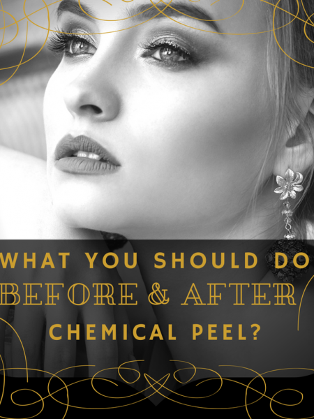 What You Should Do Before And After A Chemical Peel Treatment Infographic