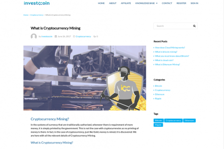 What is Cryptocurrency Mining | What you need to know about mining Infographic