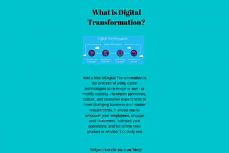 What is Digital Transformation Infographic
