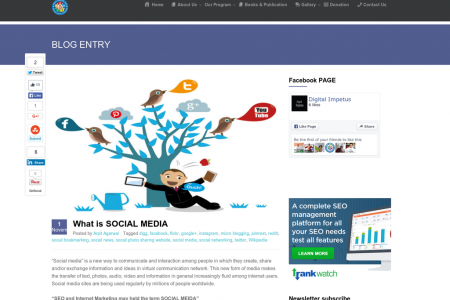 What is SOCIAL MEDIA Infographic