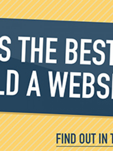 What is the Best Way to Build a Website? Infographic
