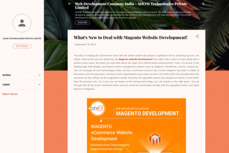 What's New to Deal with Magento Website Development! Infographic