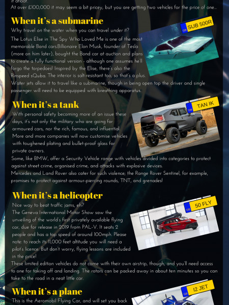 When is A Car Not A Car Infographic