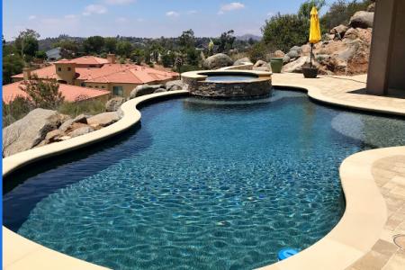 When is the Best Time for Swimming Pool Remodeling? Infographic
