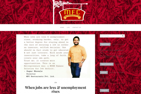 When jobs are less & unemployment rises Infographic