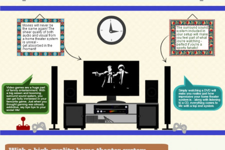 Why Owning a Home Theater System Rocks Infographic