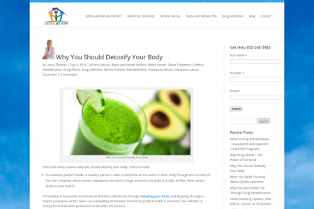 Why You Should Detoxify Your Body Infographic