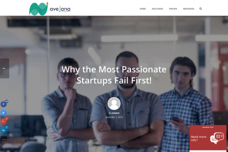 Why the Most Passionate Startups Fail First! Infographic