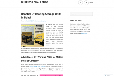 Working With A Mobile Storage Company  Infographic