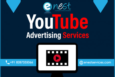 Youtube Advertising Services Infographic