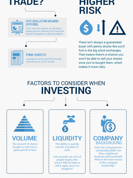 A Beginner's Guide to Penny Stocks Infographic