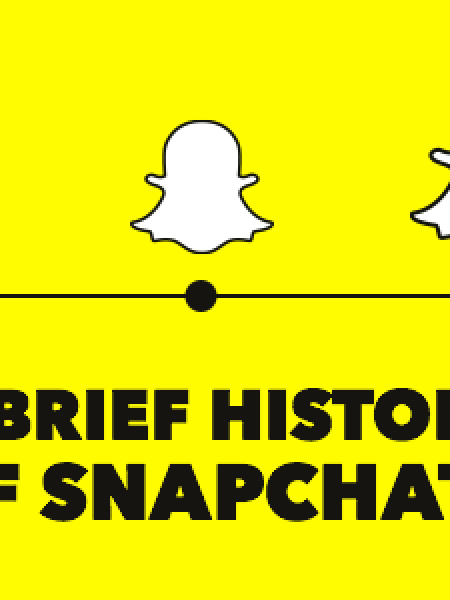 A Brief History of Snapchat Infographic