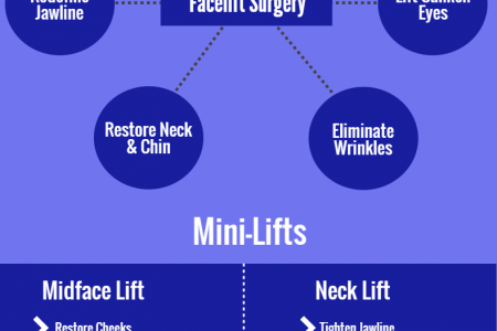 A Brief Overview of Face Lift Surgery Infographic