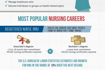 A Career In Nursing: Looking at Your Options Infographic