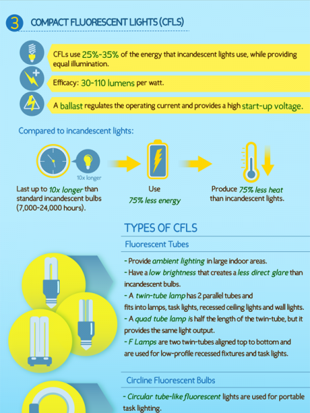 A Complete Guide to Energy Efficient Home LIghting  Infographic