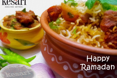 A delicious and tasty Ramadan treat!! - Mutton Briyani  Infographic