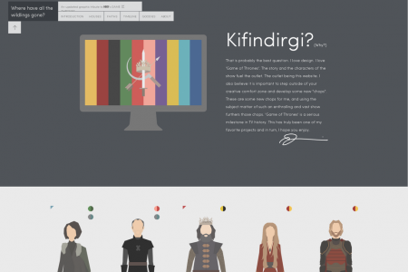 A Graphic Tribute To 'Game Of Thrones' Infographic