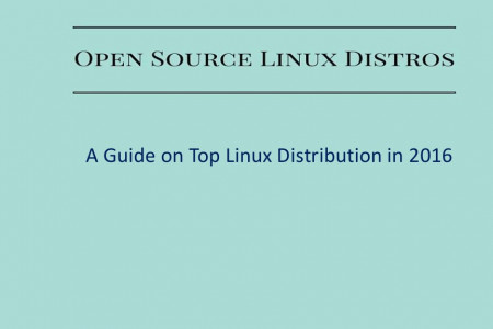 A Guide on Top Linux Distribution in 2016 Infographic
