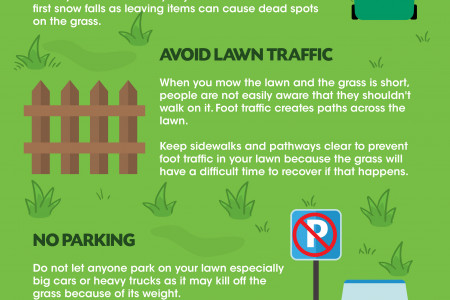 A Guide On Winter Lawn Care Infographic