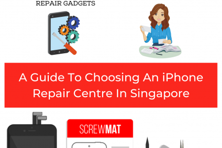 A Guide To Choosing An iPhone Repair Centre In Singapore Infographic