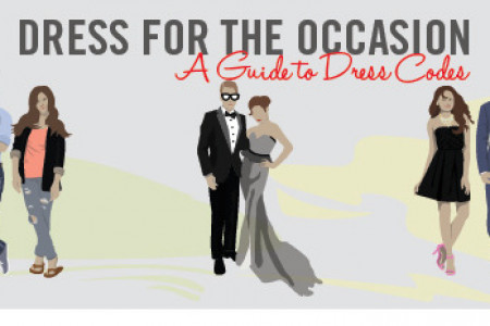 A Guide to Wedding Dress Codes Infographic