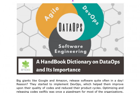 A HandBook Dictionary on DataOps and Its Importance Infographic