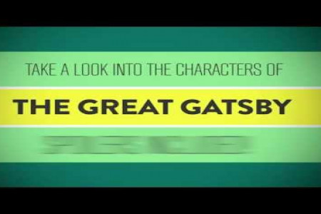 A Look Into The Characters of The Great Gatsby Infographic