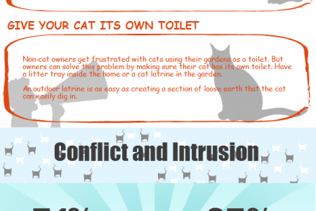 A Nation Divided: SureFlap Neighbourhood Cat Campaign Infographic Infographic